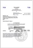 S160-LVD-Certificate