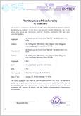 F21 FCC Certificate