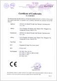 FV350 CE Certificate