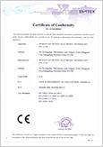 Multibio800-H CE Certificate