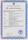 SF100 CE Certificate
