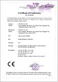 SF400 CE Certificate