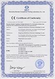 TF1700 CE Certificate
