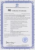 TF1700 FCC Certificate