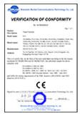 TS1000 Pro CE Certificate