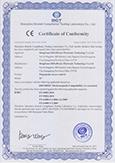 X7 CE Certificate